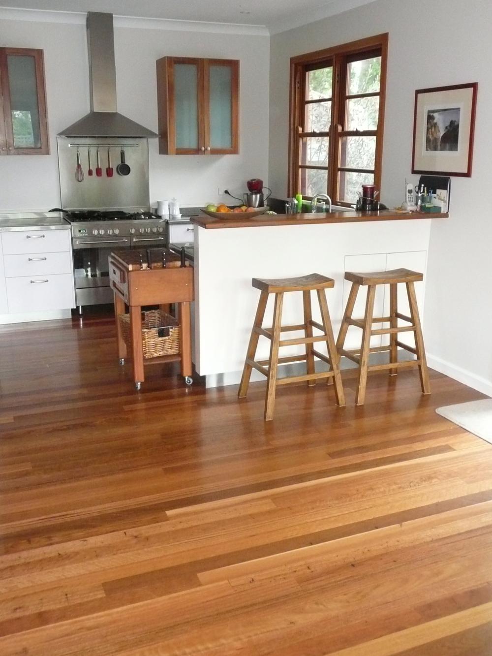 Remilled Blackbutt Flooring