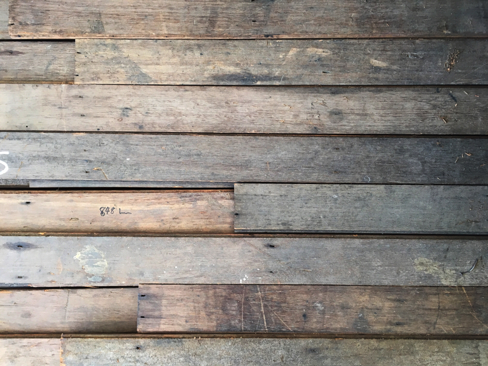 Salvaged hardwood flooring seconds - various sizes and species available.