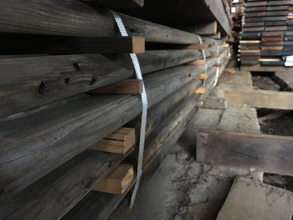 Rounded Oregon battens - rare profile - these look great amongst other sizes.