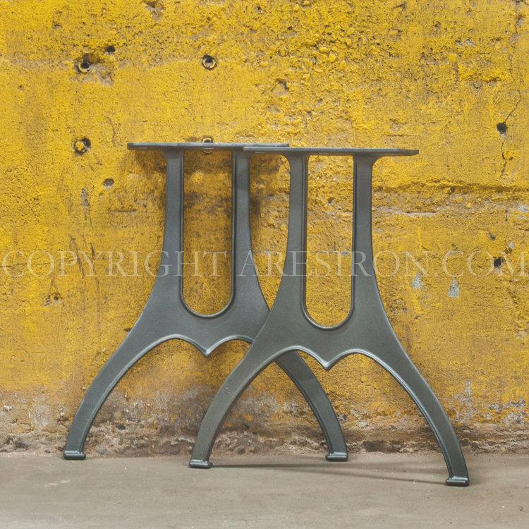 Cast iron legs