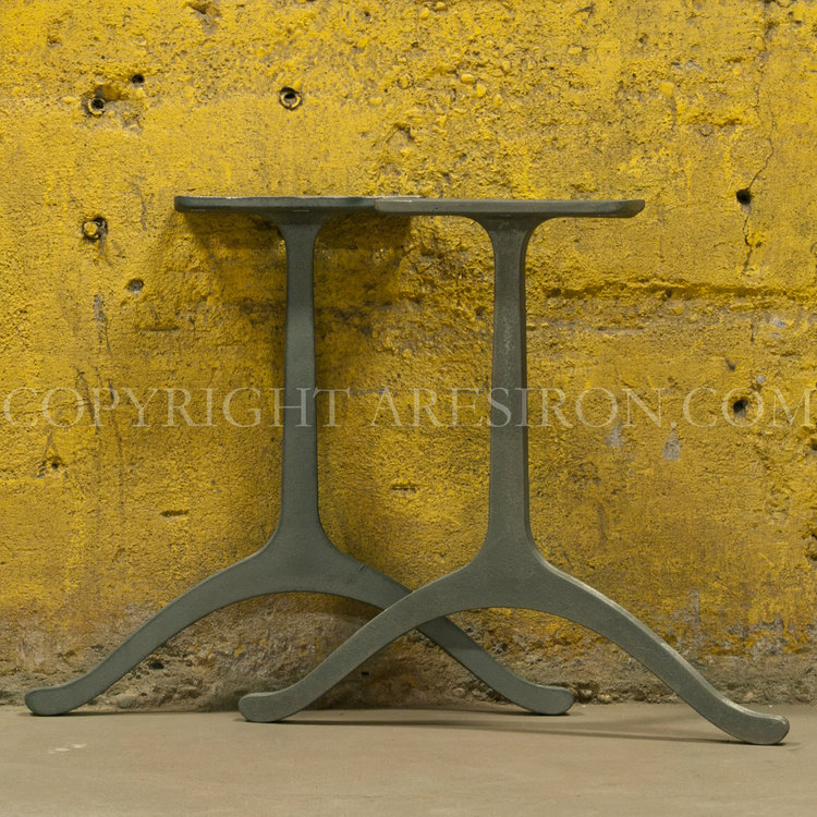 wishbone cast iron legs