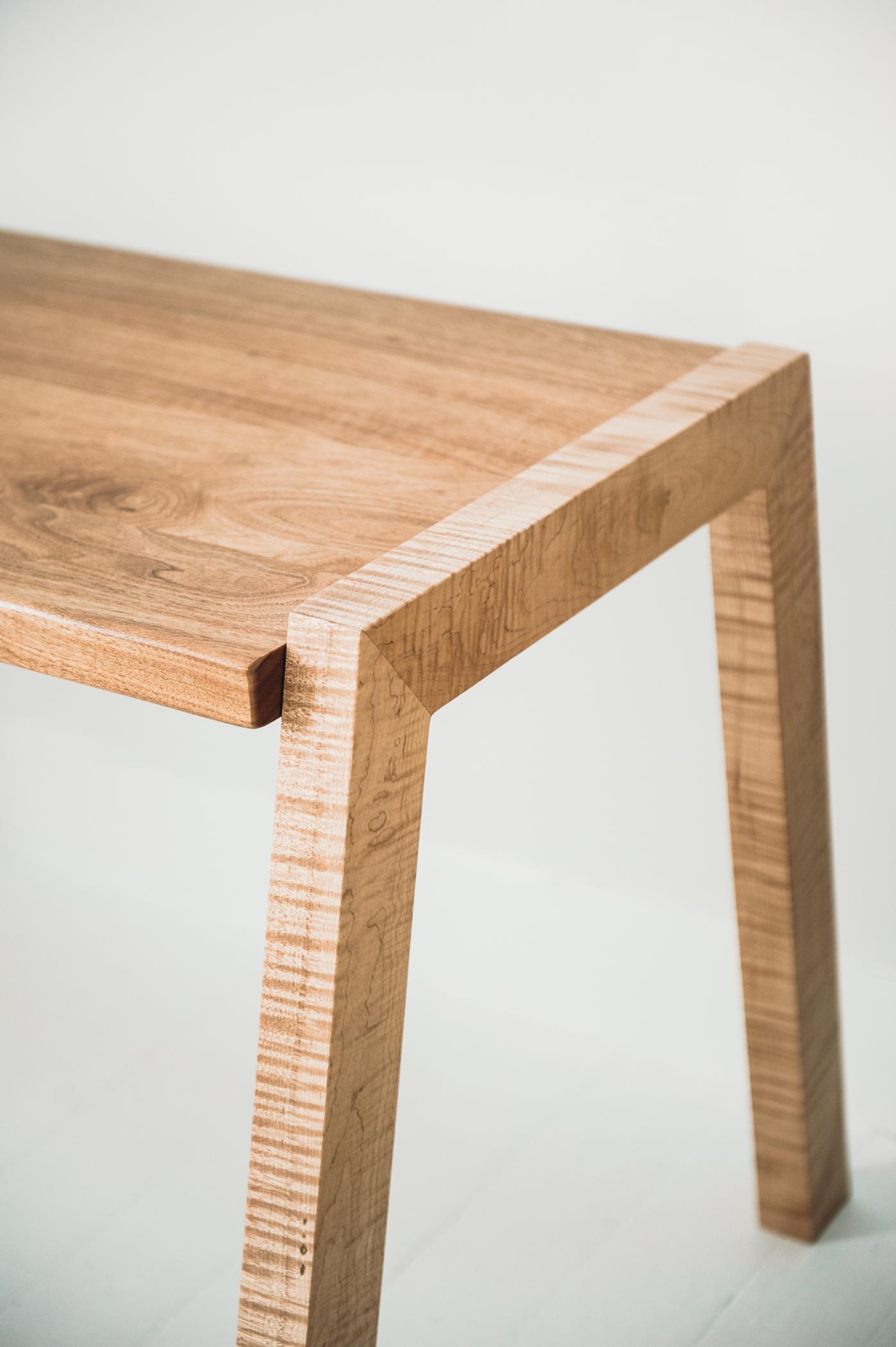 Maple and Butternut Desk