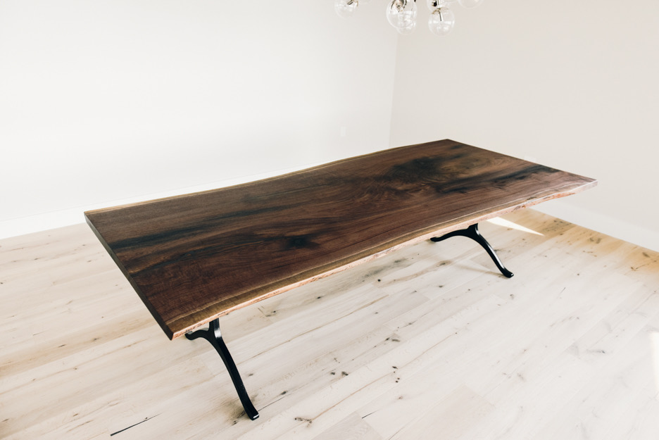 Contemporary Slab Dining Table