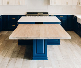 Large wood countertop