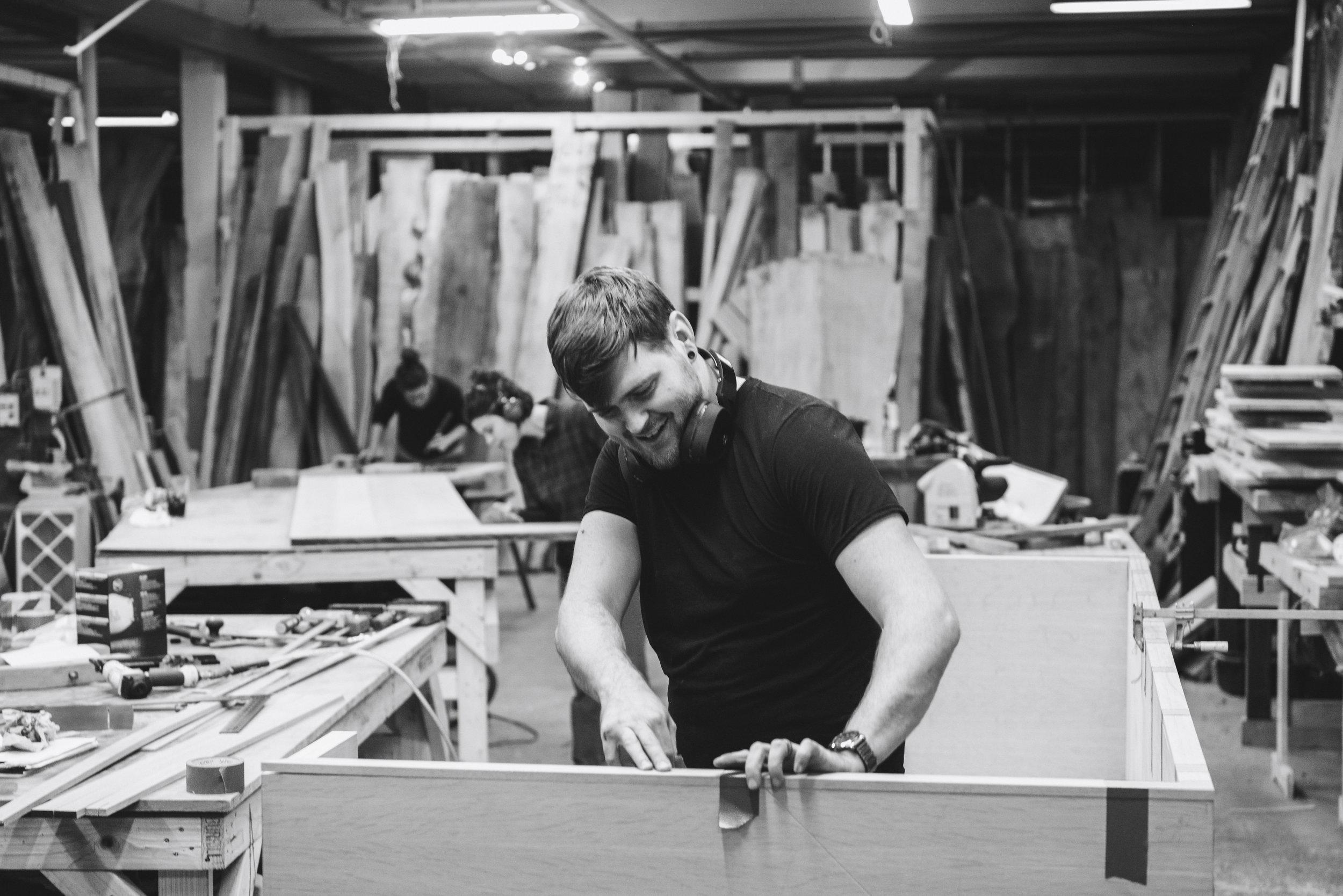 Dustin Grabowski   Cabinet Maker/ Finisher