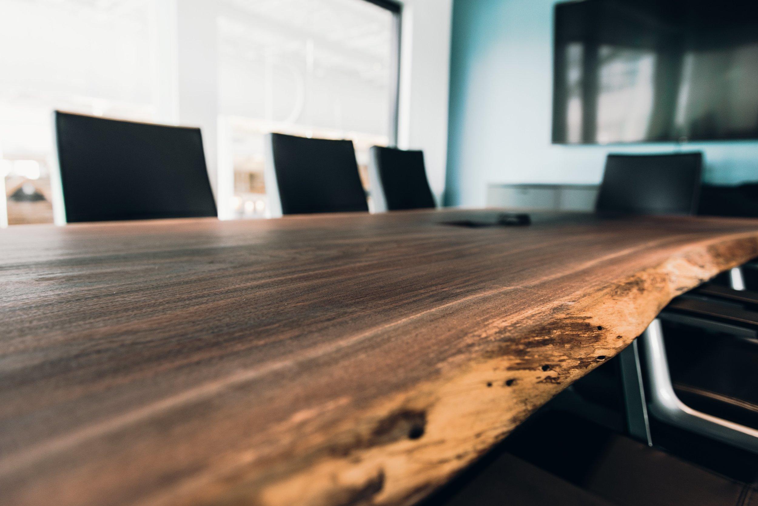 Live edge walnut conference table .jpg
