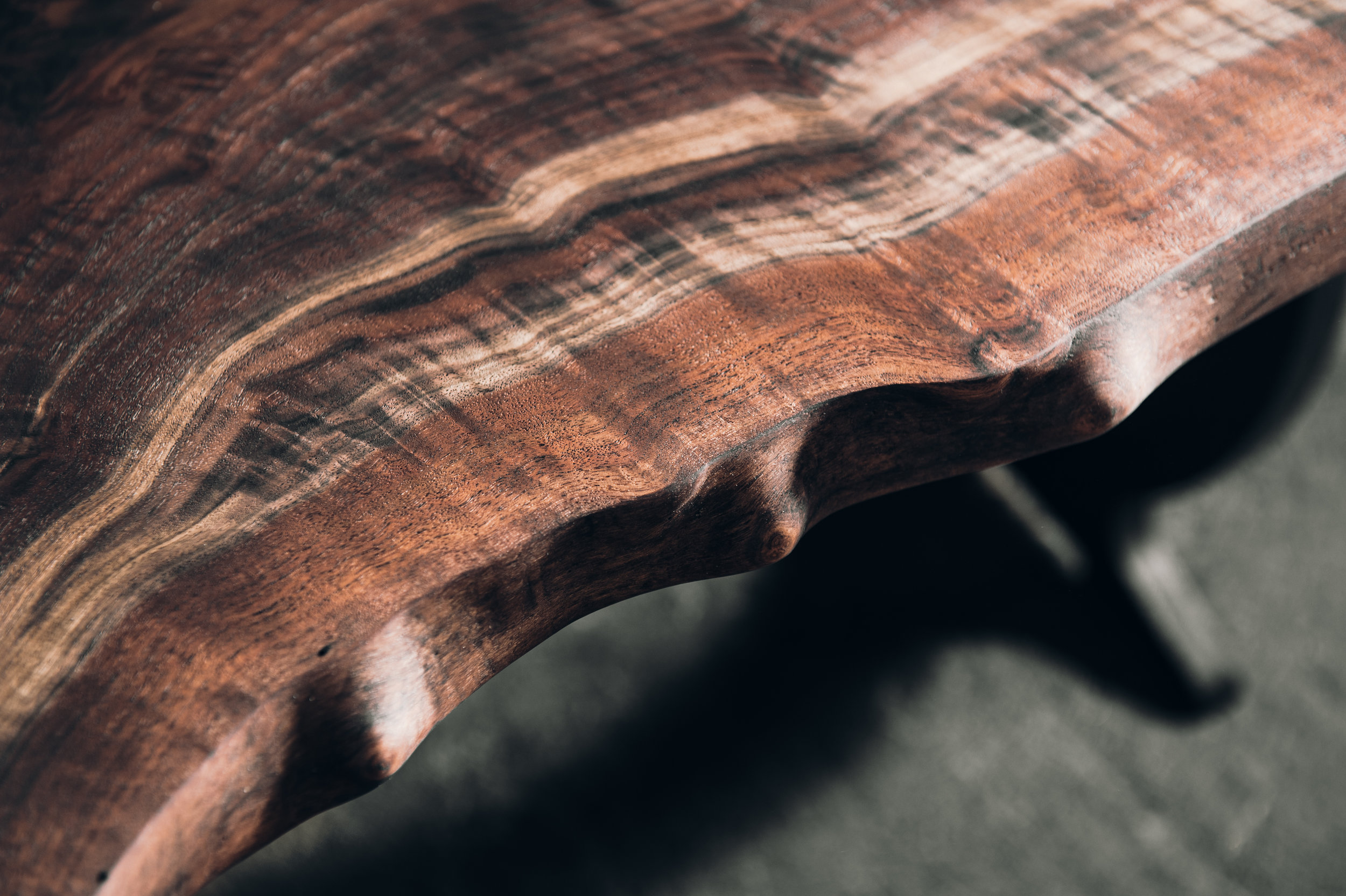 claro walnut live edge