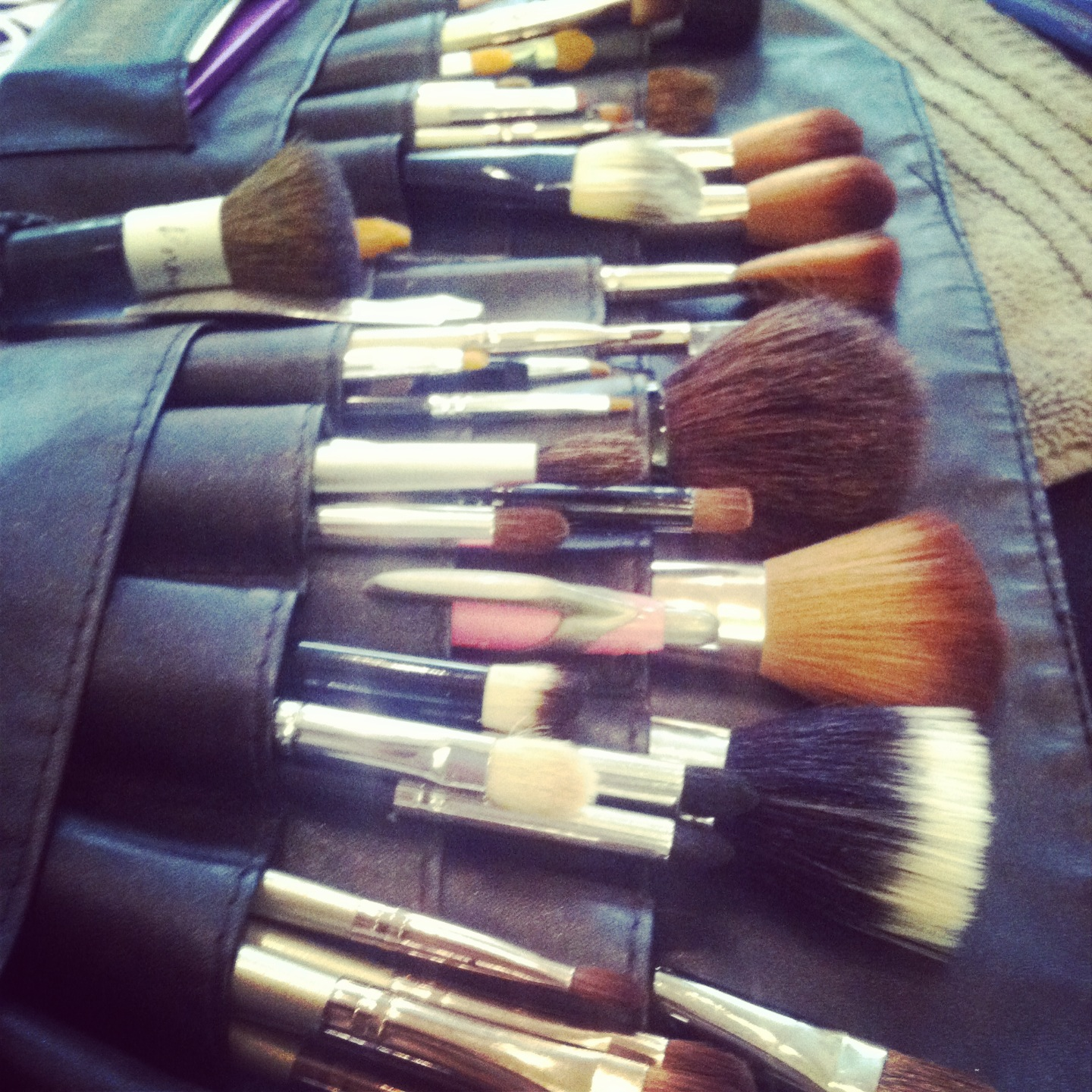 makeup brushes-lace cosmetics