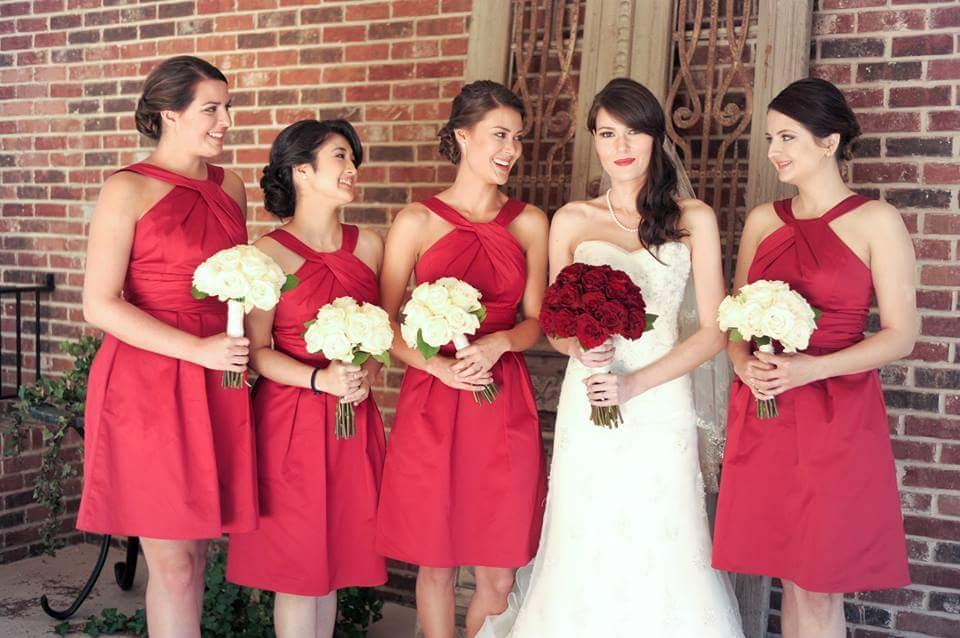 wedding party makeup in atlanta
