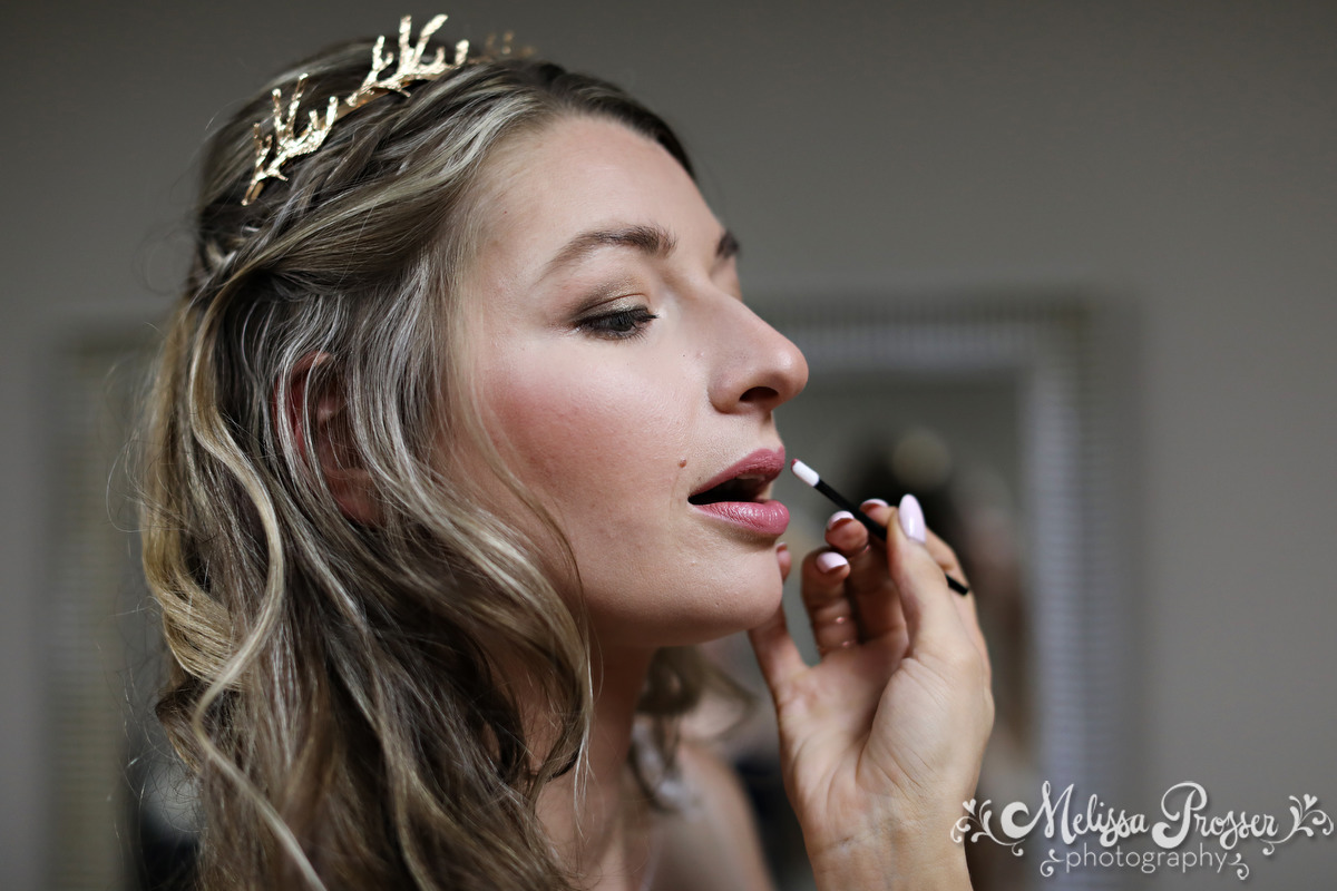 Bride Finishing Touches - Makeup
