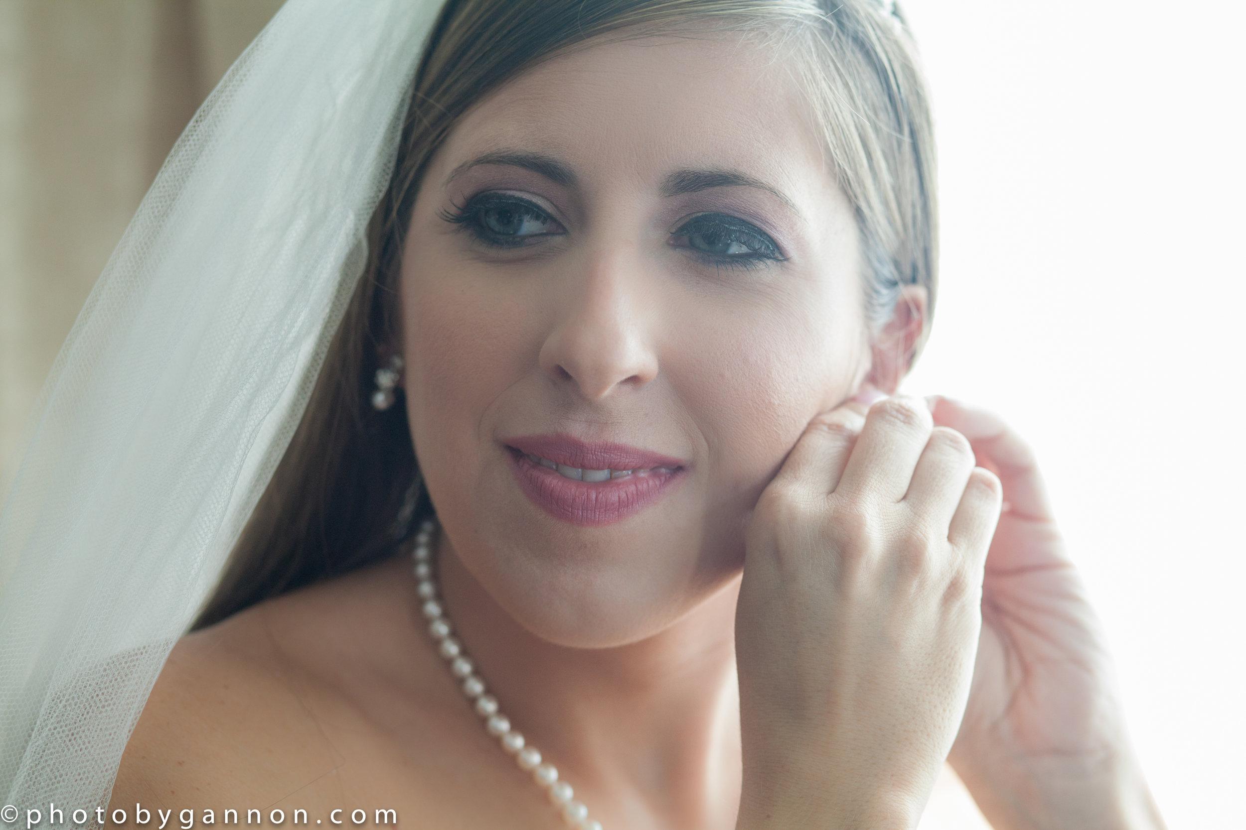 getting dressed - wedding day