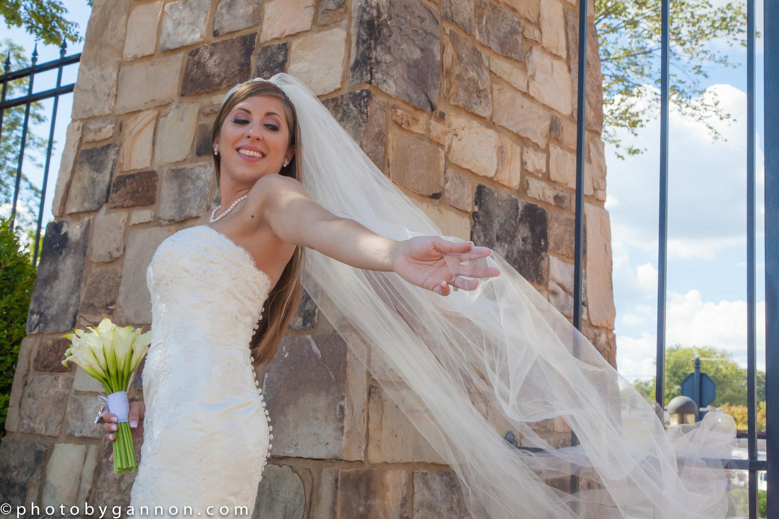 bride before her wedding