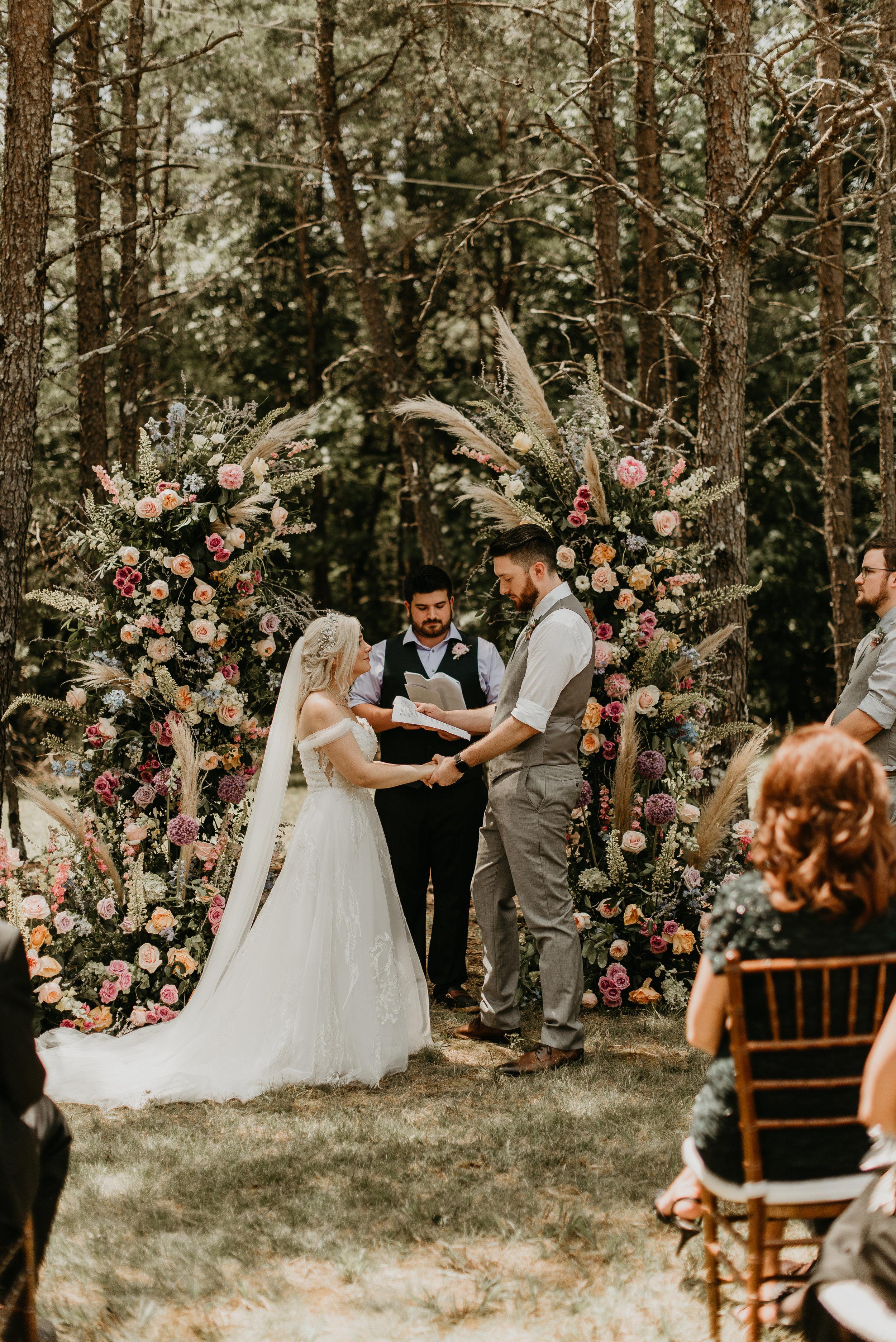 georgia wedding in cloudland canyon state park