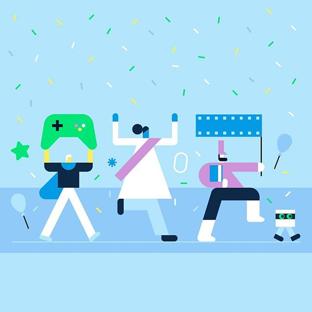 Deals Week! We created a super parade for our global Spring Deals campaign, with characters designed by @minstudio_ and @matthewhollister. Get out and party this weekend! 🎉