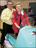 Dick & Eileen Harrison on a 1964 Scorpion.