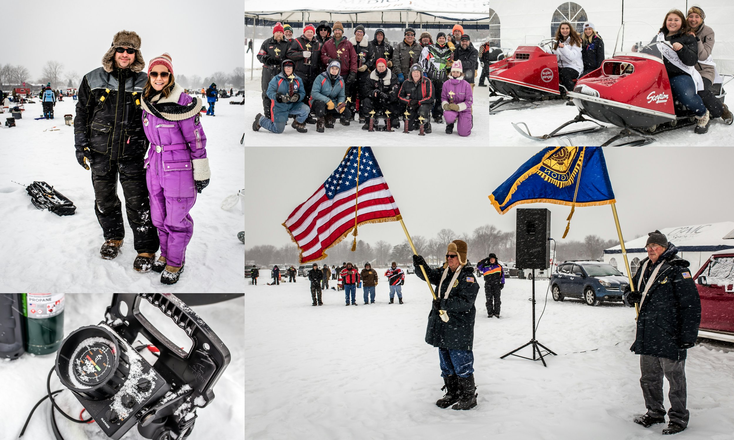 Highlights from past Cuyuna Lakes Annual Ice Fishing Contest & Scorpion Homecoming events
