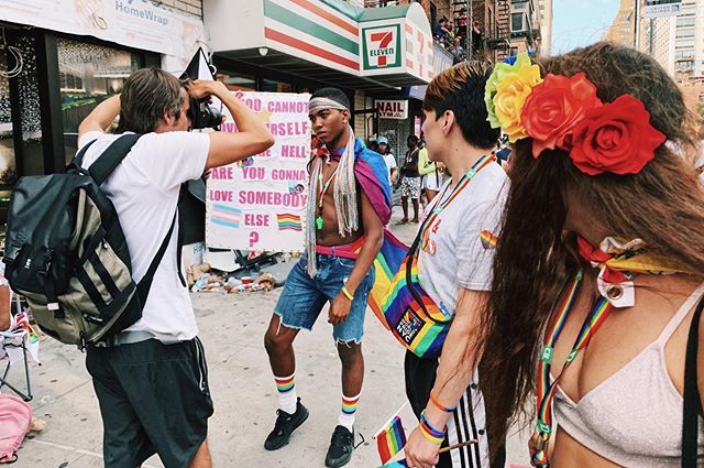 Some quieter moments of #worldpridenyc from yesterday. #pride #pridemonth #nyc #parade