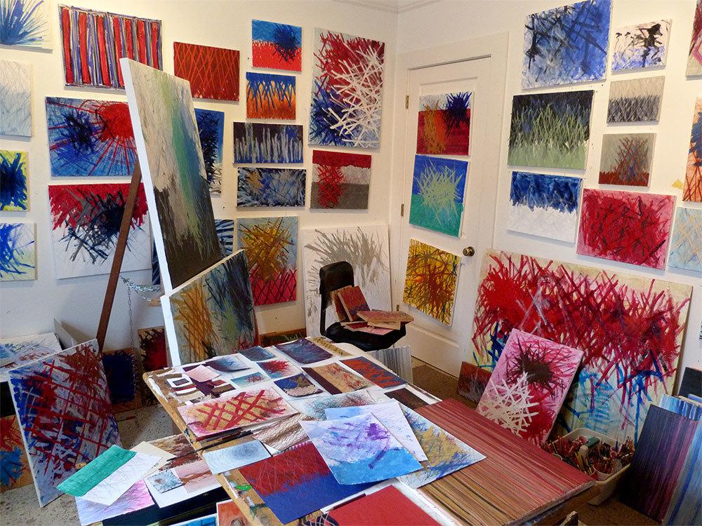 David Rex Joyner's studio