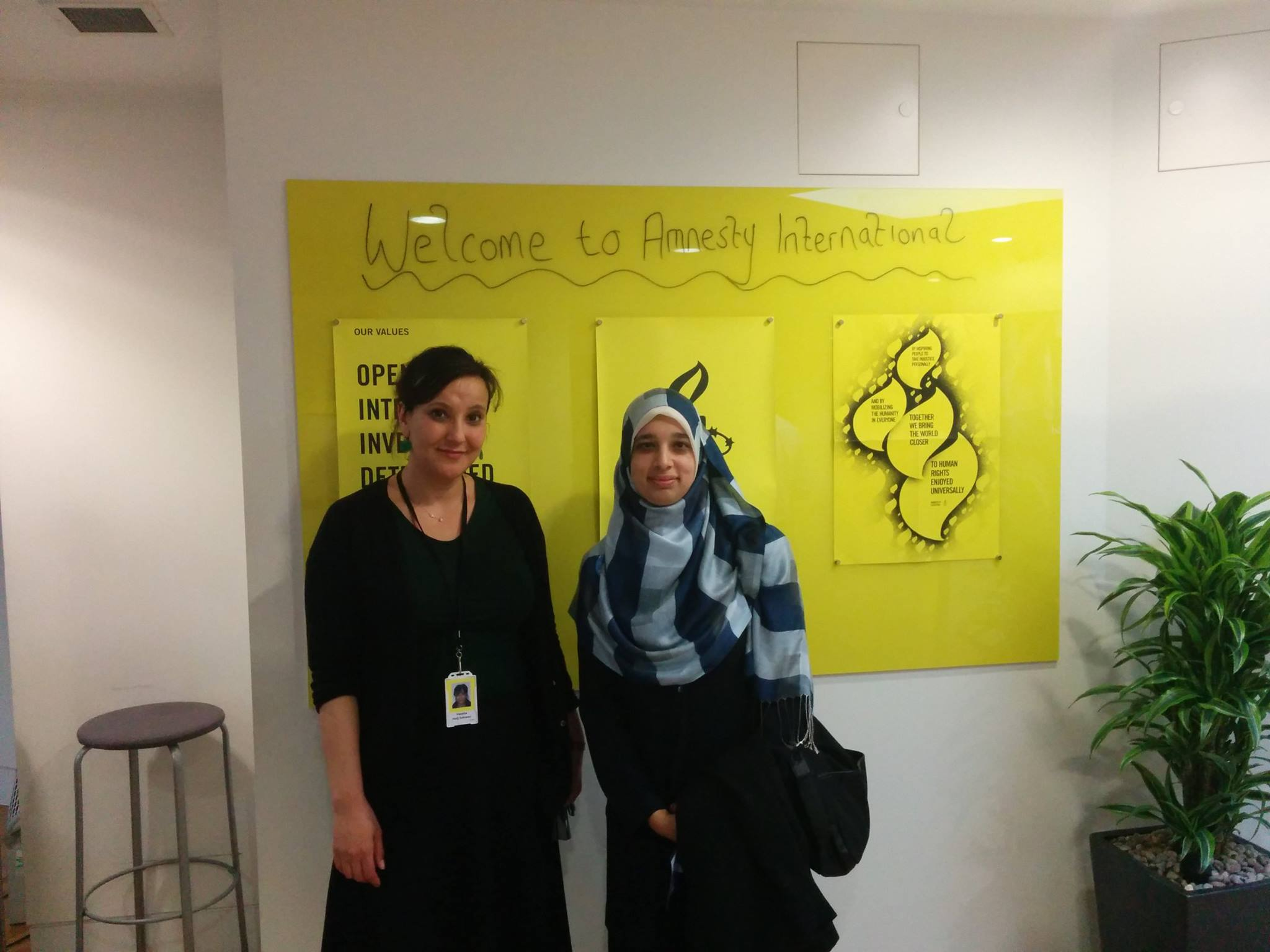 Hassiba Hadj- Sahraoui Deputy Director for MENA at Amnesty International