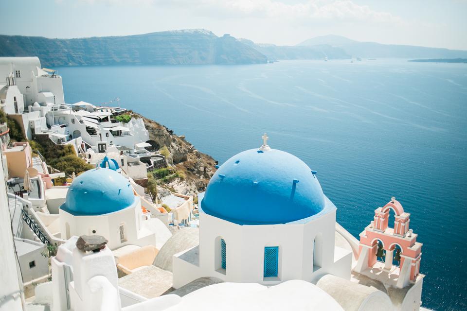 Santorini Greece wedding photographer