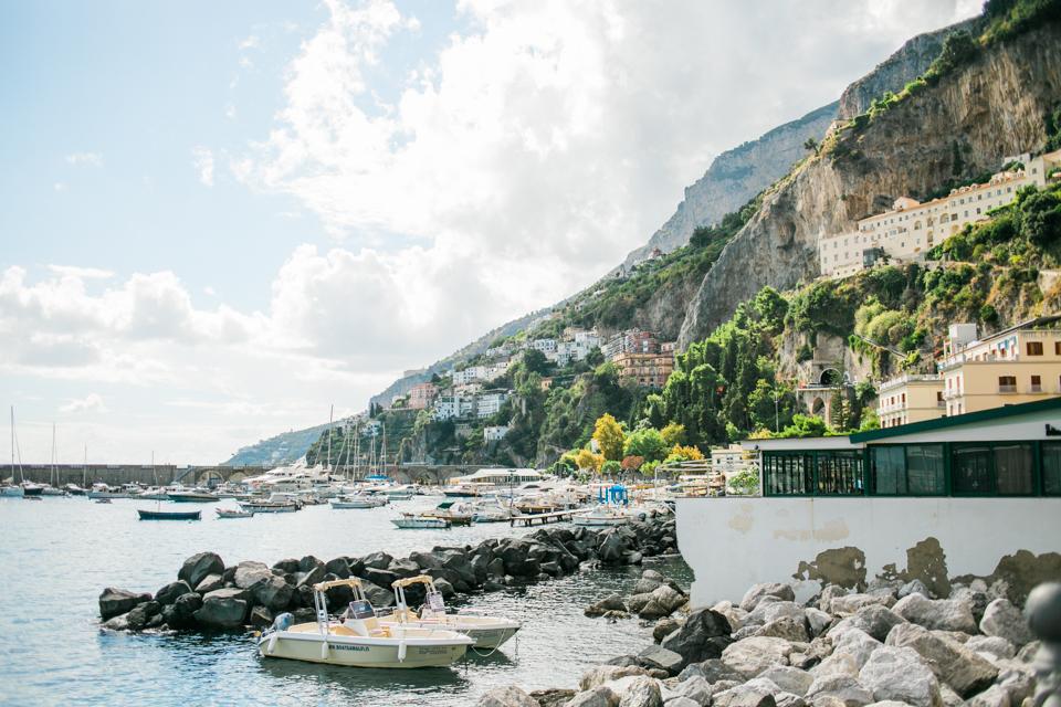 Amalfi Coast Italy vacation