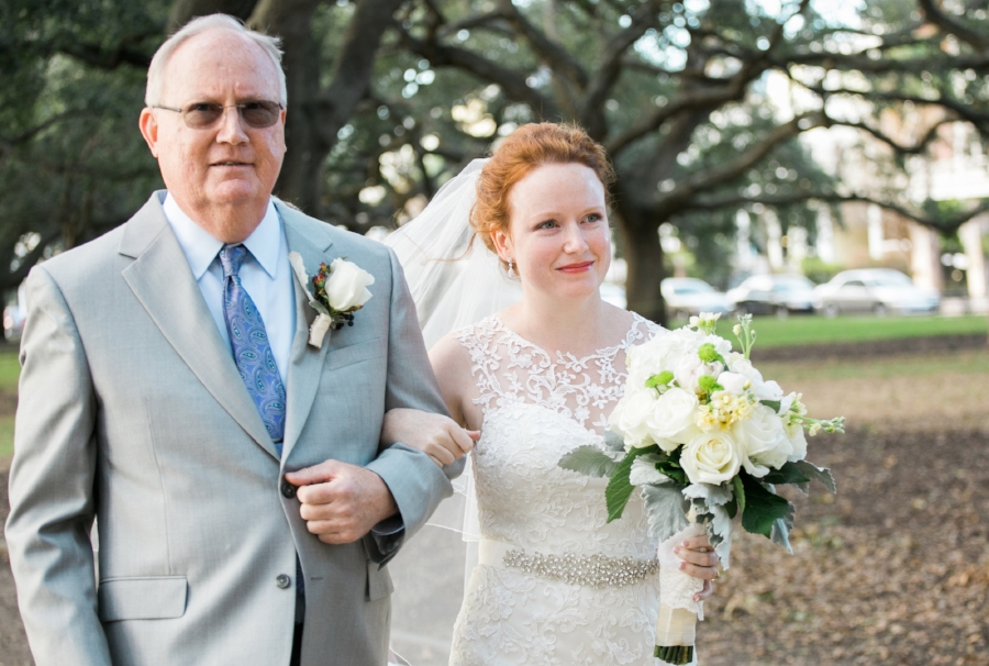 White Point Garden wedding
