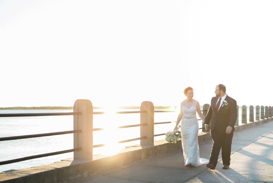 White Point Gardens wedding photographer