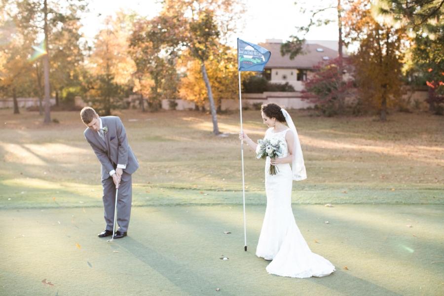 Woodside Plantation Country Club wedding