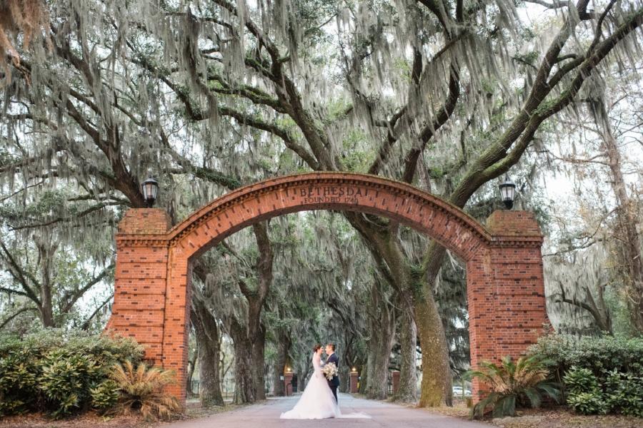 Bethesda wedding Savannah GA