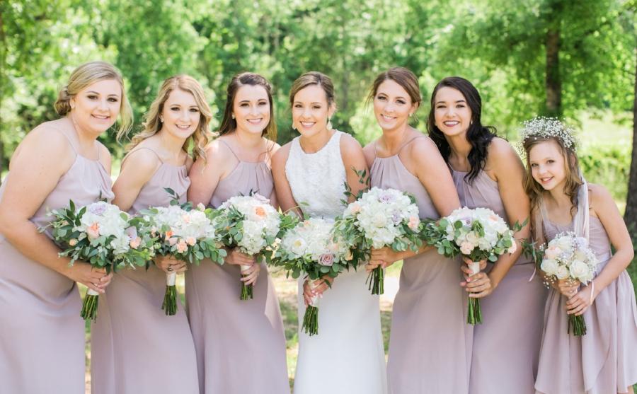 The Red Barn Aiken wedding