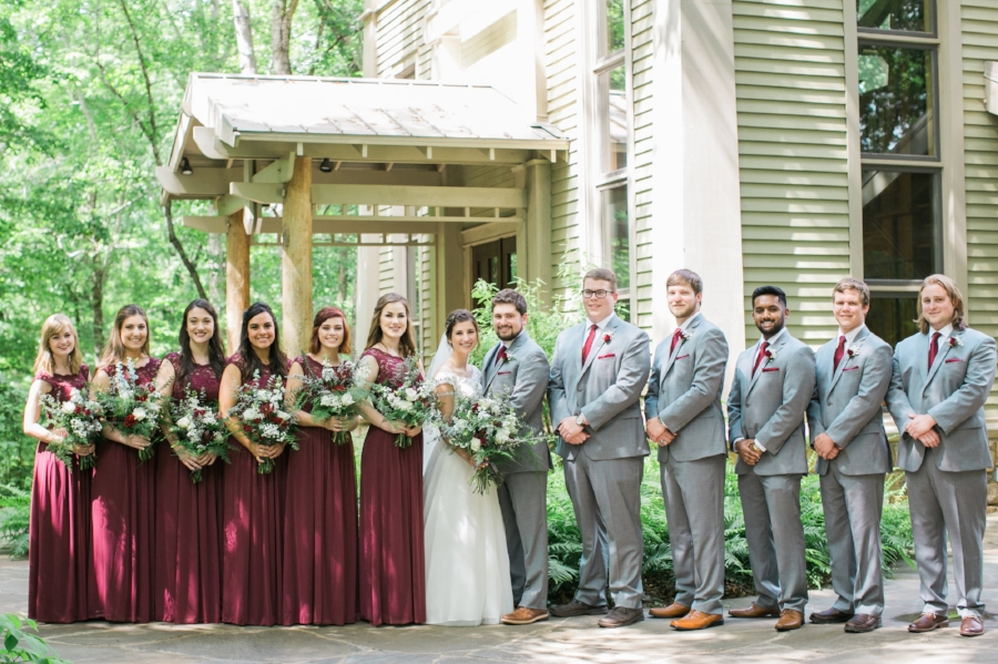 Athens Botanical Gardens wedding