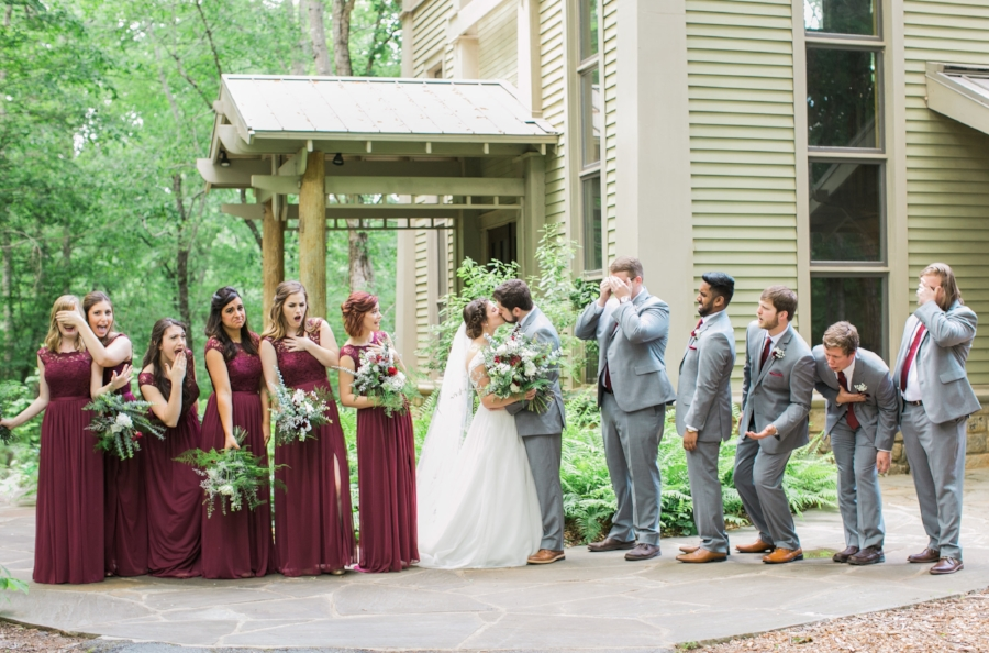 State Botanical Gardens wedding in Athens