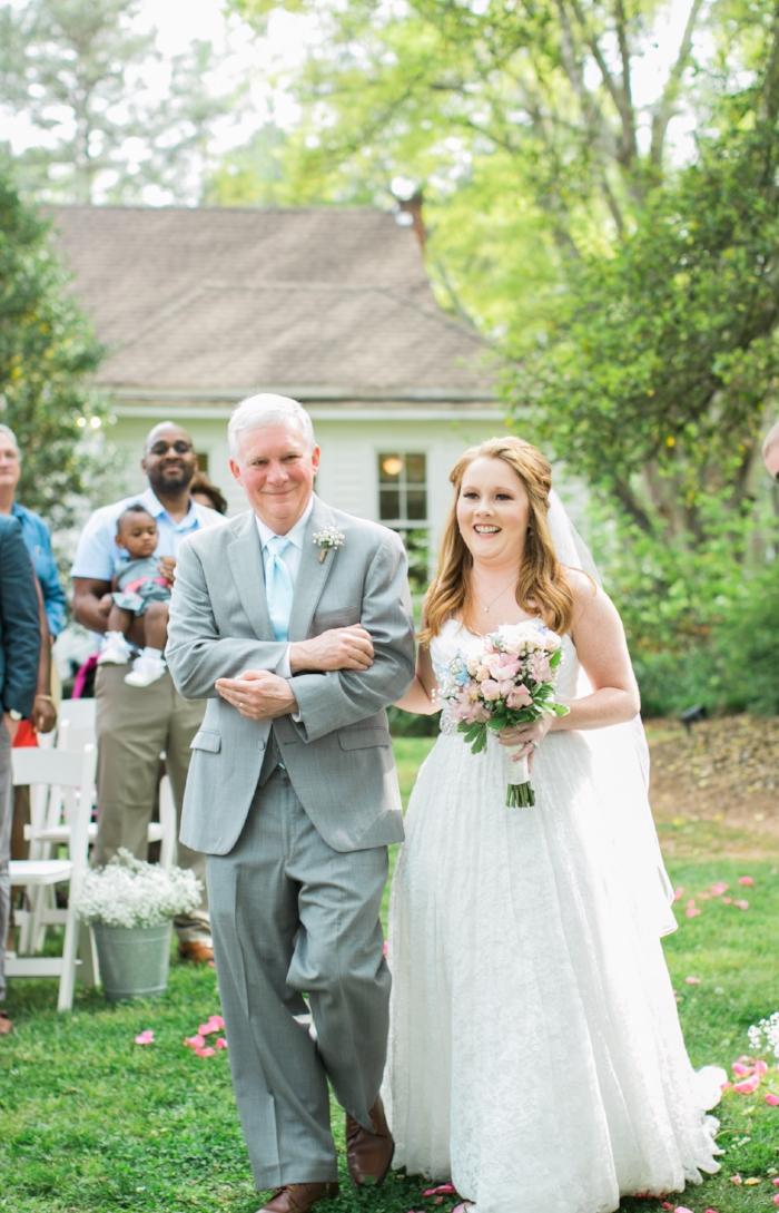 Hopelands Gardens wedding in Aiken
