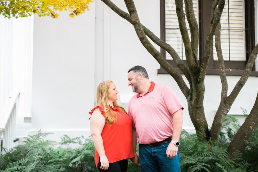 Athens GA engagement photos
