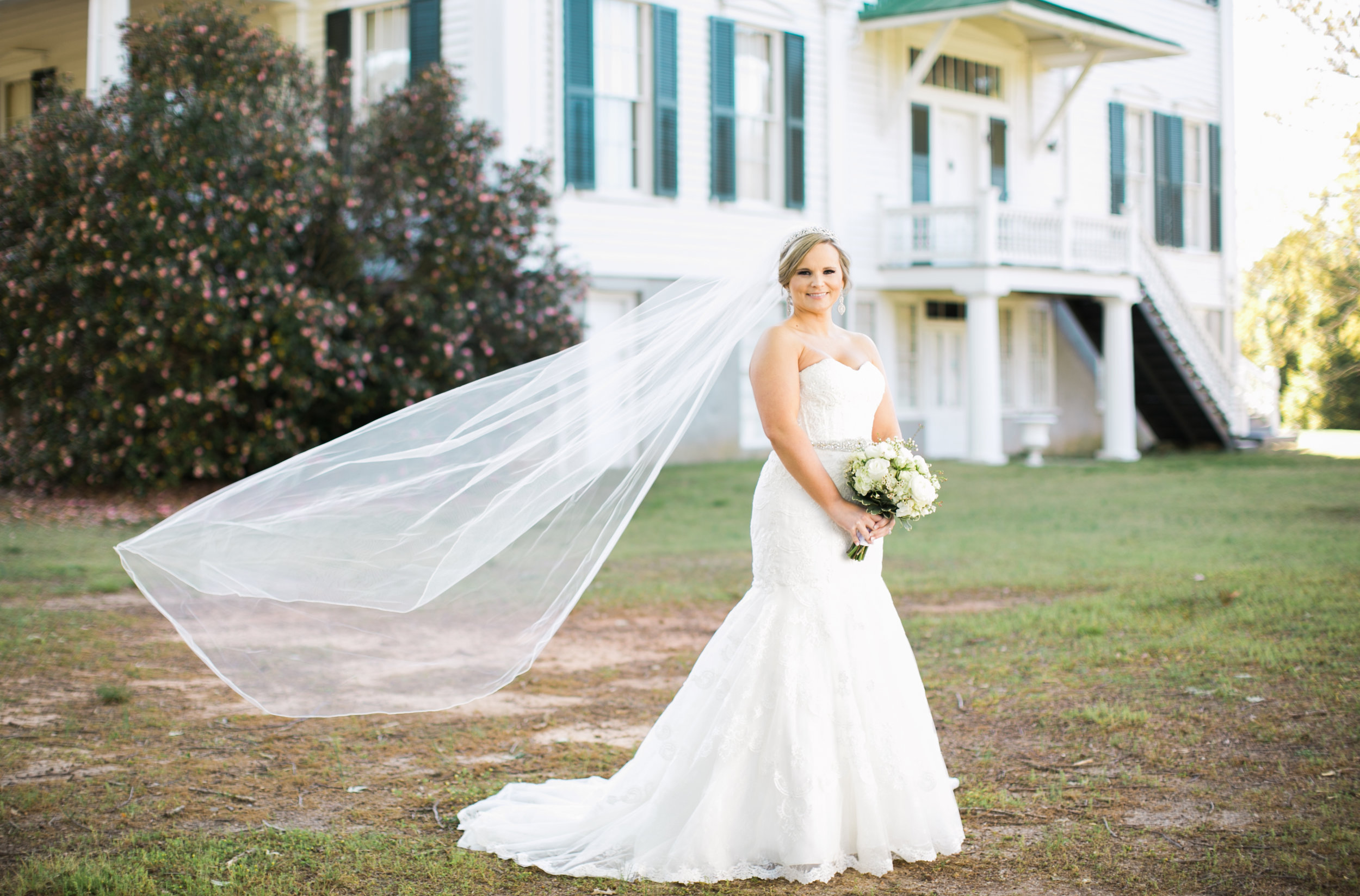 Aiken South Carolina bridal portraits