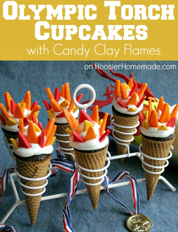 We love these torch cupcakes complete with fireproof candy flames!  http://tinyurl.com/d89xhsm