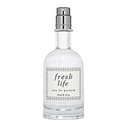 Fresh - Fresh Life   Notes:   Grapefruit, Lilac Leaves, Warm Orange,Tonka Flowers, Sweet Cucumber, Bergamot, Vanilla Grass, Cypress.    Style:   Sensual. Immediate. Fresh.    Available at Sephora:   http://tinyurl.com/mlrxjc7