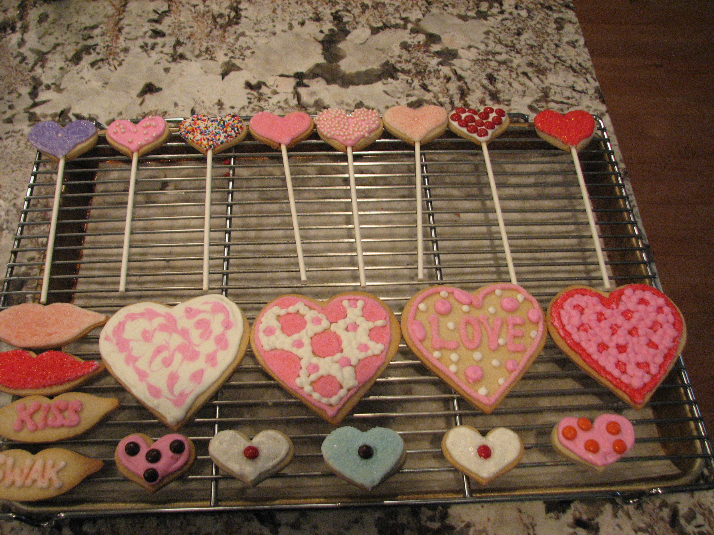 Finished cookies! Which one is your favorite?