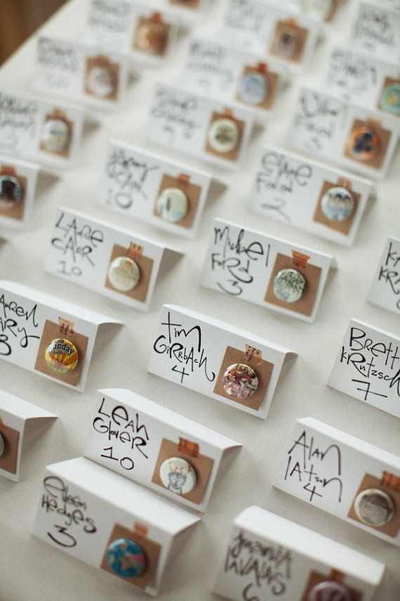 This takes a lot of time but is a fun way to inject some personality into your wedding!