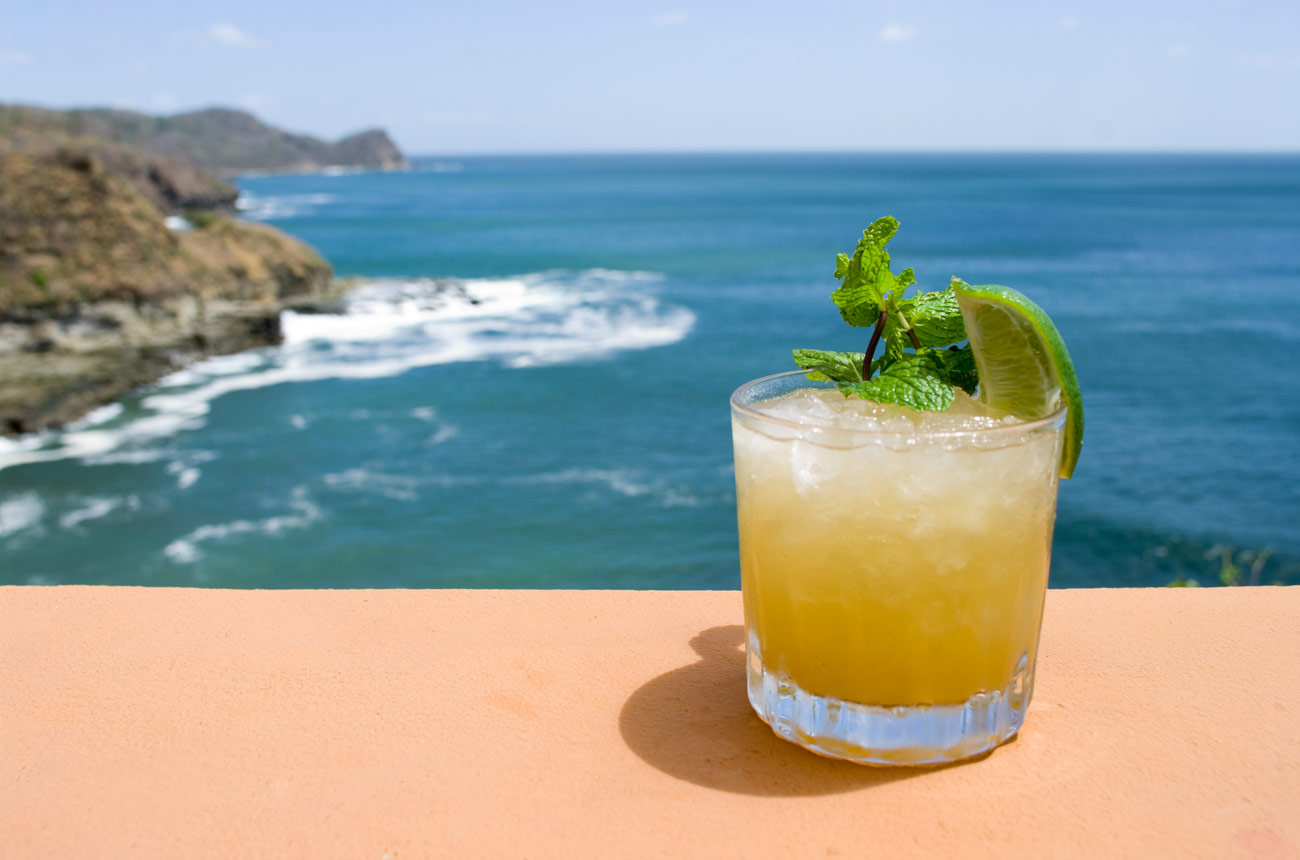 Trader Vic's famous mai tai is a classic and a great one to borrow for your wedding day!