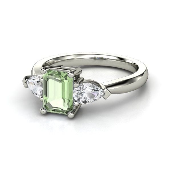 This Green Amethyst ring from Gemvara really is a beautiful alternative to a more traditional diamond ring.