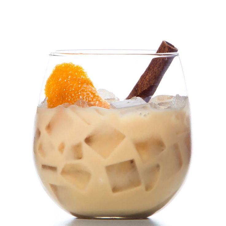 This iced Horchata coffee combines Hennessy, Sweetened Condensed Milk, Espresso and Grand Marnier! Yum!