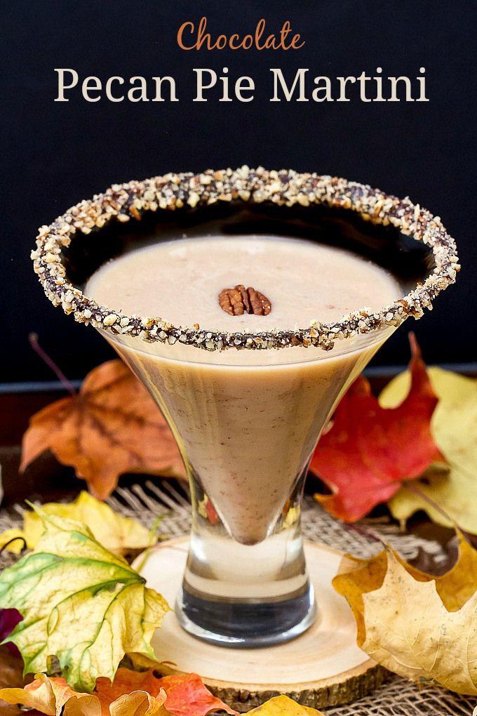 C  hocolate Pecan Pie Martini