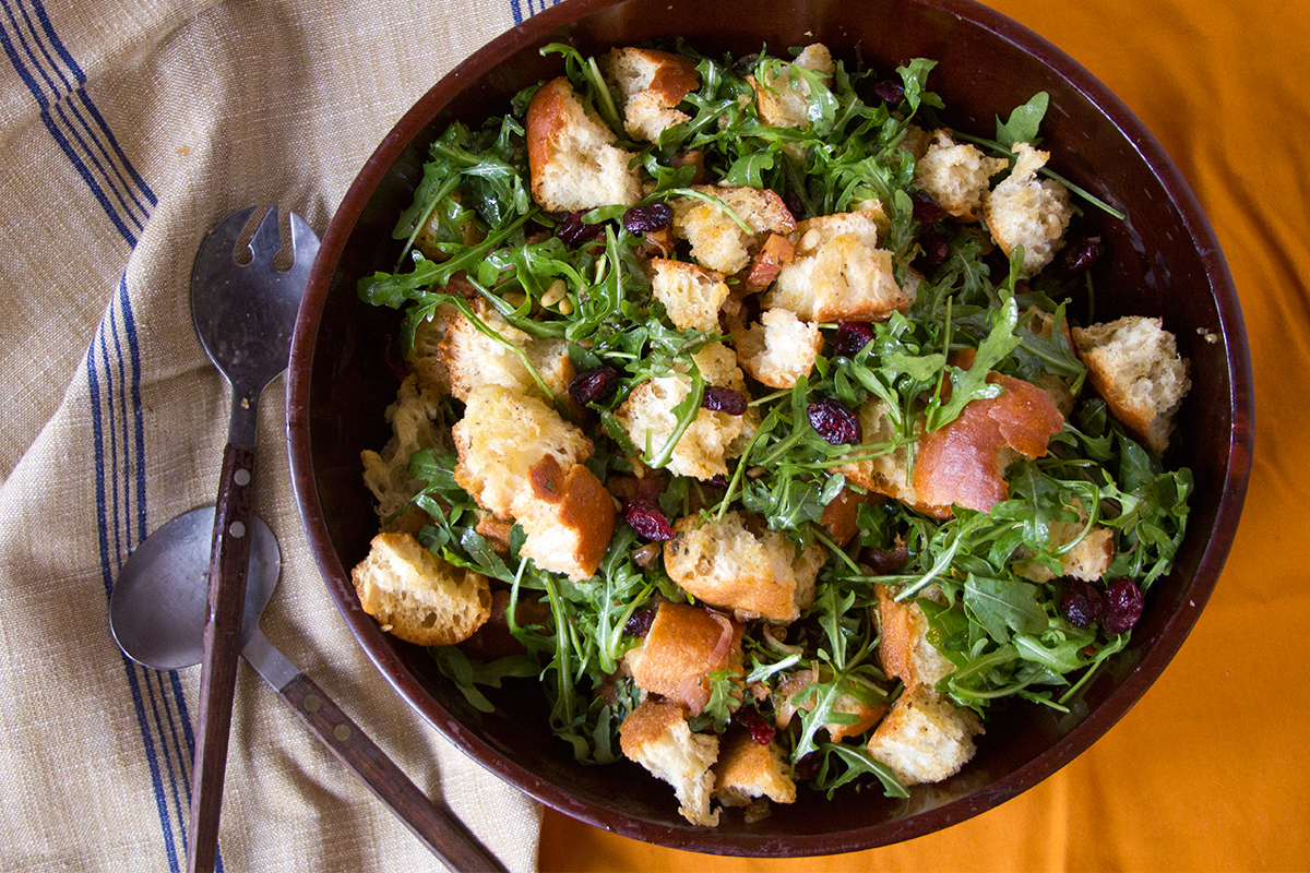 Autumn Panzanella Salad  / Credit: Laura Sant