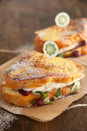 Turkey Cranberry Monte Cristo