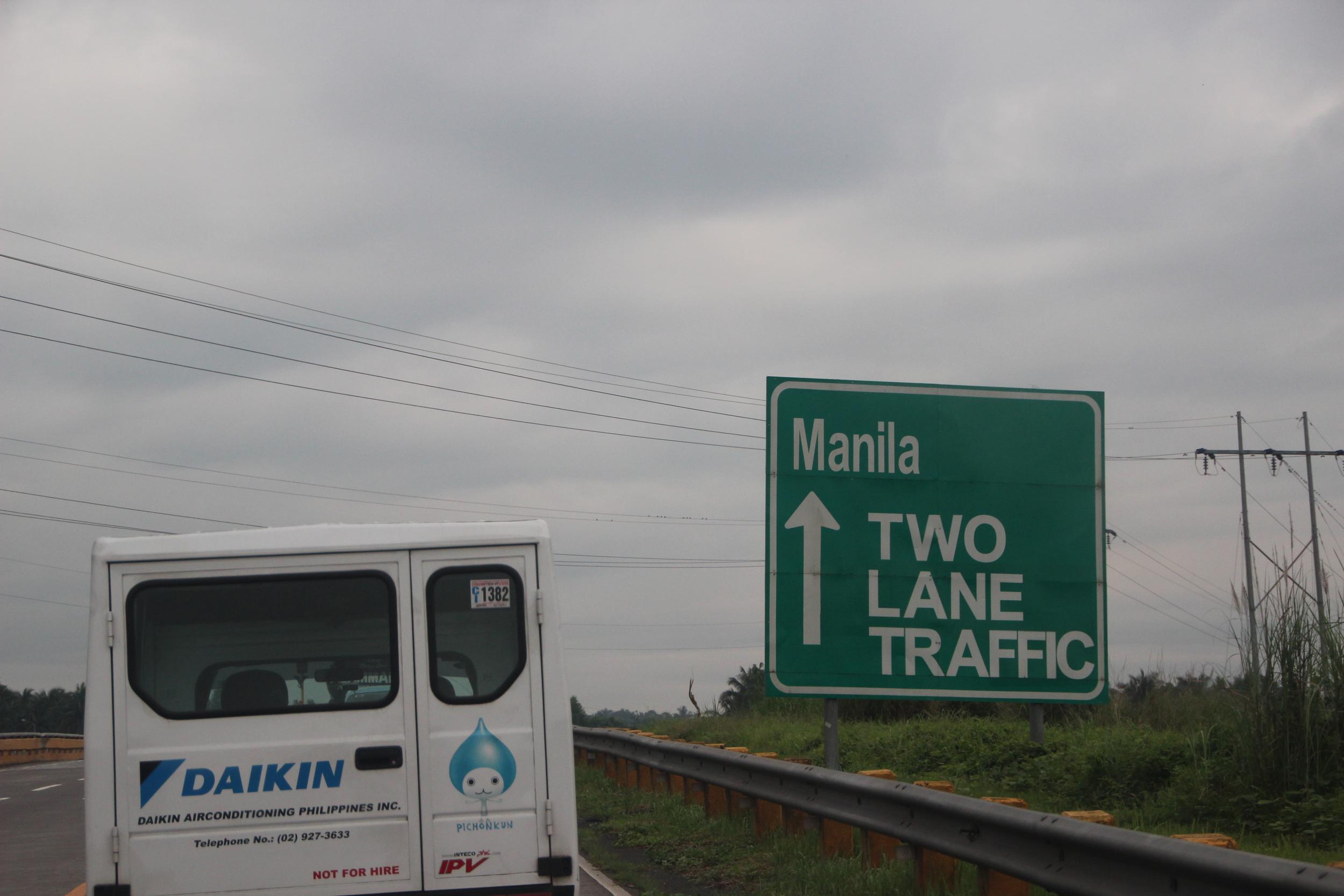 On the Way to Manila
