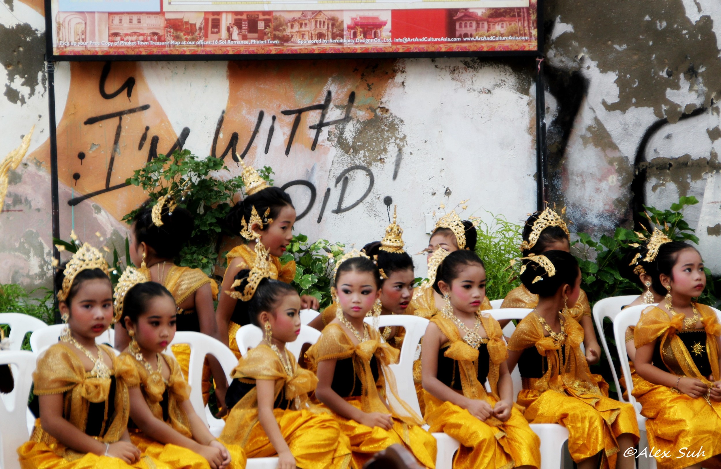 Tradition Thai Dance Costume