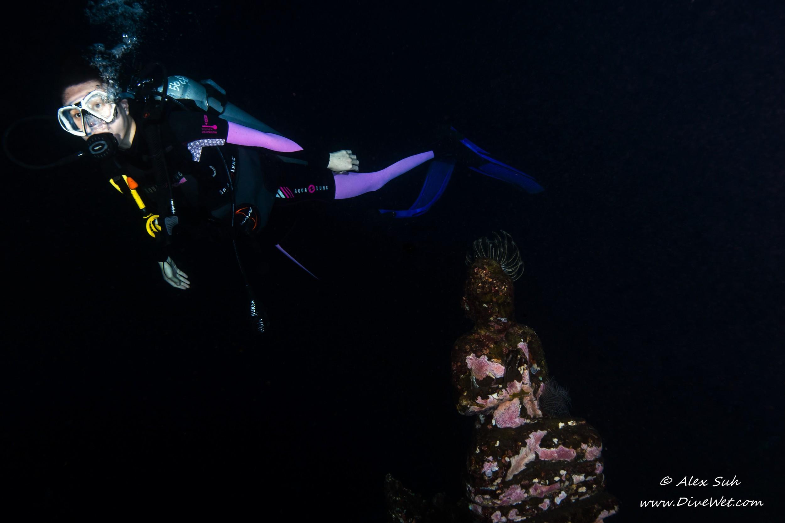 Winnie Statue Swimming Away 2 Bali.jpg
