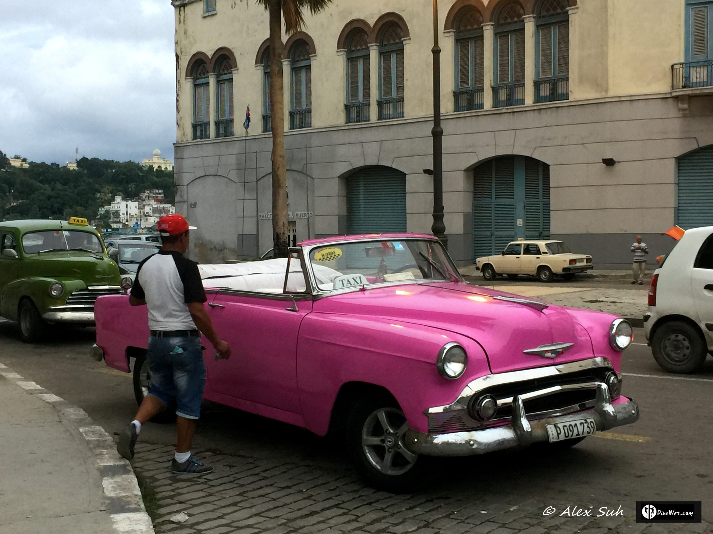 Cuba is famous for their old cars. Chevy in this case.