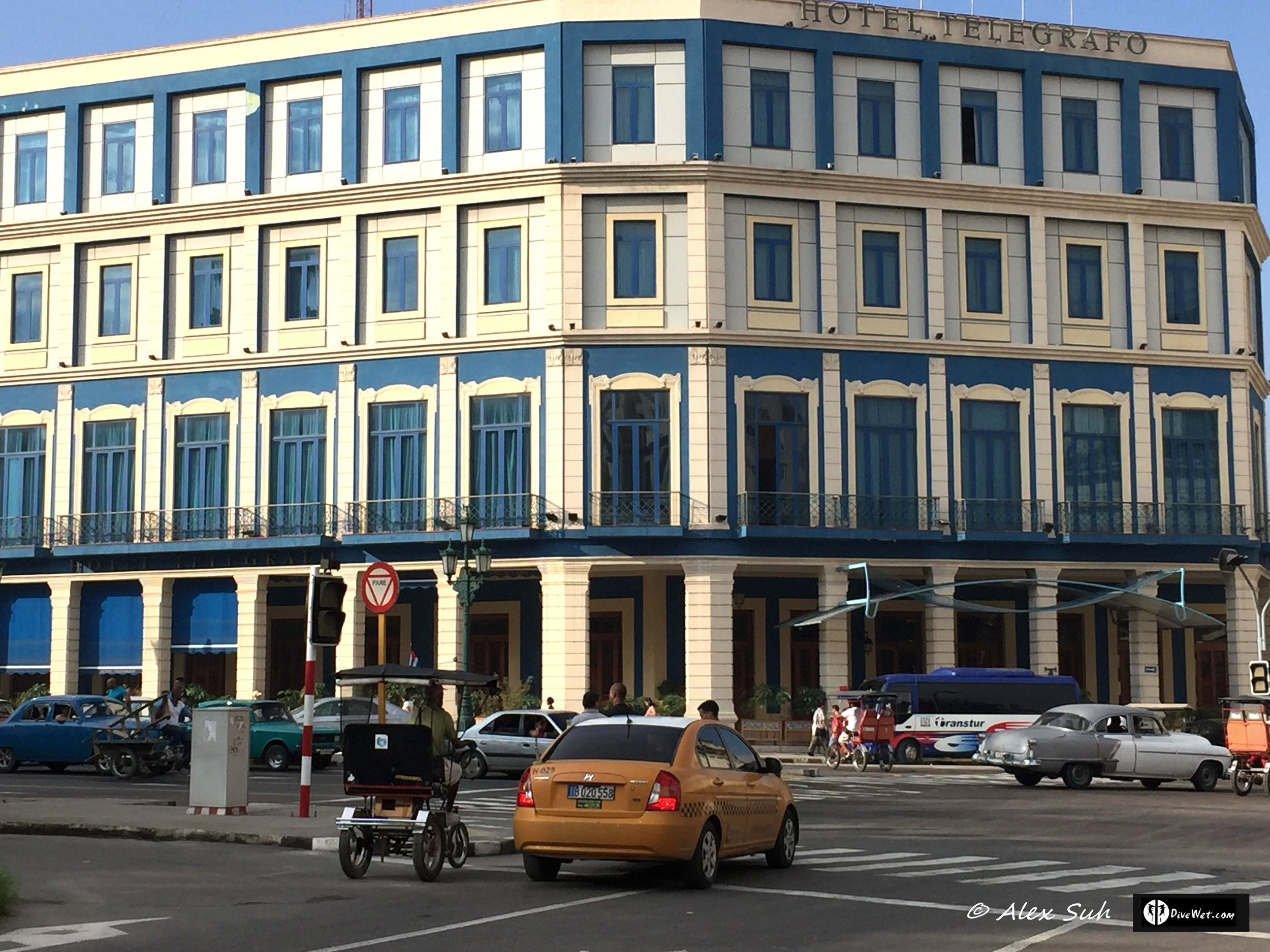 Hotel Telegrafo in Old Havana